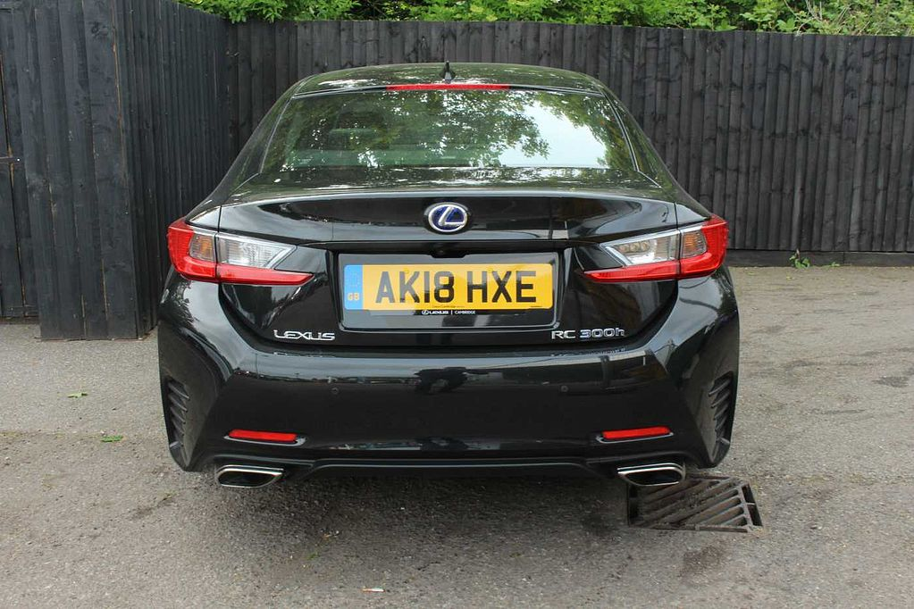 Pre Owned Lexus Rc 300h 2 5 Black Edition 2 Dr Coupe By
