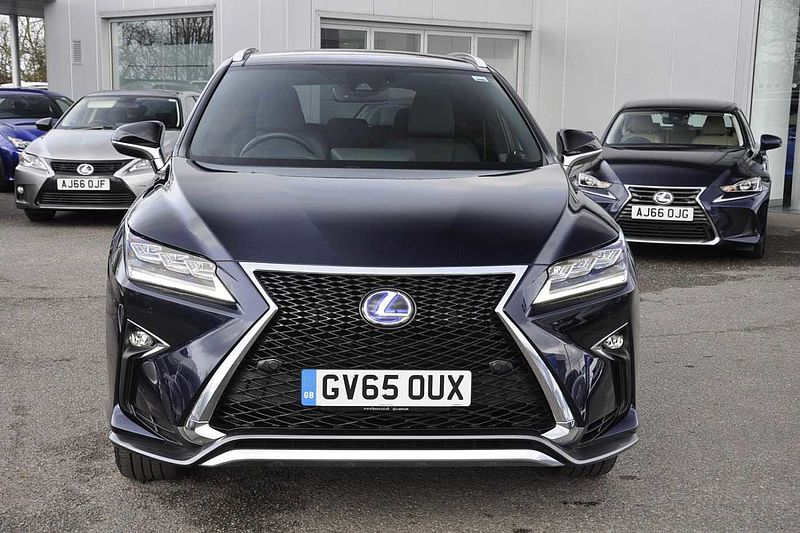 Pre Owned Lexus Rx 450h 3 5 F Sport Mark Levinson Pan Roof