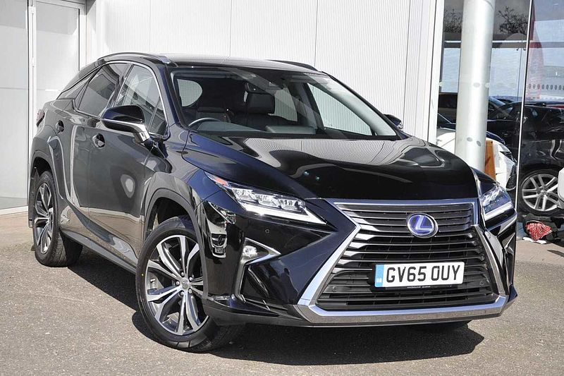 Pre Owned Lexus Rx 450h 3 5 Luxury Panoramic Roof By